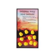 PORUMB ARTIFICIAL FLOTANT ENTERPRISE TACKLE POP-UP SWEETCORN, 10BUC/PLIC Yellow Fluo Unflavoured