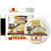 Fir Monofilament Trabucco S-Force Match Sinking 150m, 0.18mm 4.55kg