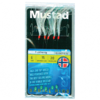 Taparine Mustad Feather, 5buc/plic Nr.6