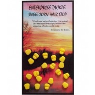 OPRITOARE ENTERPRISE TACKLE SWEETCORN HAIR STOPS, 20BUC/PLIC Yellow