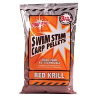 Pelete Dynamite Baits Swim Stim Carp Pellets, Red Krill, 900g 3mm