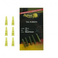 Select Baits Tail Rubbers - Weed Green
