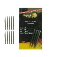 Select Baits Anti-Tangle Sleeves - Weed Green