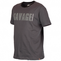 Tricou Savage Gear Simply Savage Gri, M
